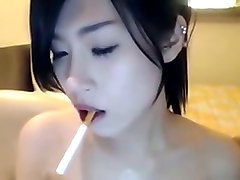Asian, Smoking, Cute, Mylust