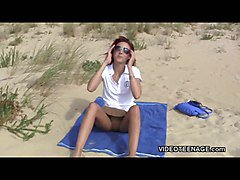 Flashing, Teen, Nudist, Beach, Xhamster