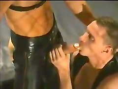 Leather, Threesome, Txxx