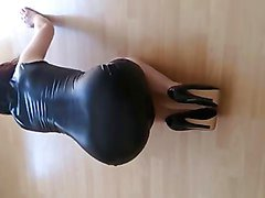 Panties, Latex, Heels, Xhamster