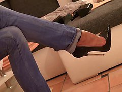 Jeans, Heels, Tight, Xhamster