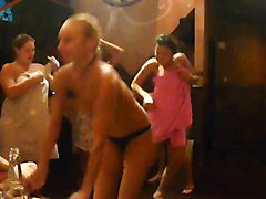 Party, Russian, Sauna, Xhamster