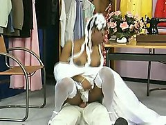 Ebony, Short Hair, Wedding, Xhamster