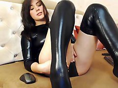 Leather, Stockings, Xhamster