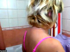 Shower, Old And Young, Xhamster