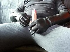 Leather, Gloves, Xhamster